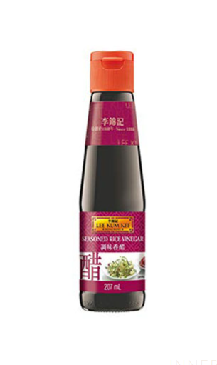 Lee Kum Kee Seasoned Rice Vinegar 12x207ml