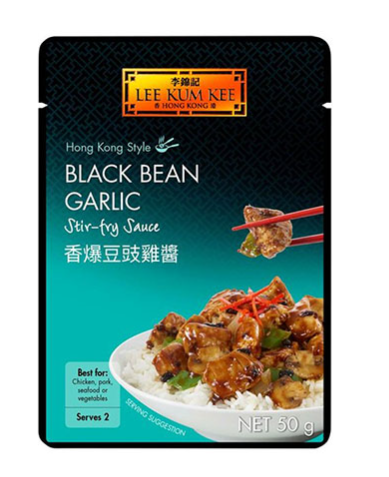 Lee Kum Kee Black Bean Garlic Stir Fry Sauce 12x50g
