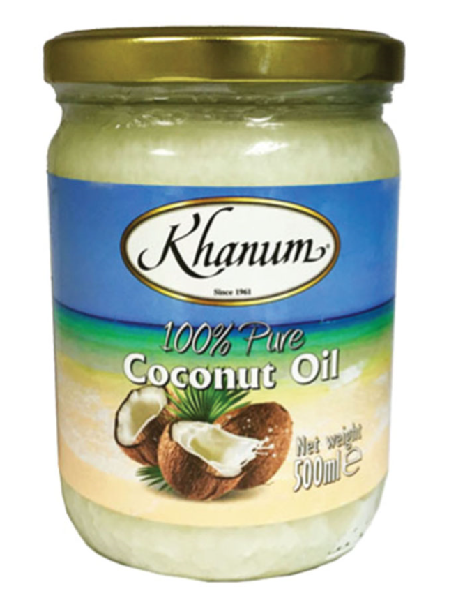 Khanum Coconut oil 12x500ml