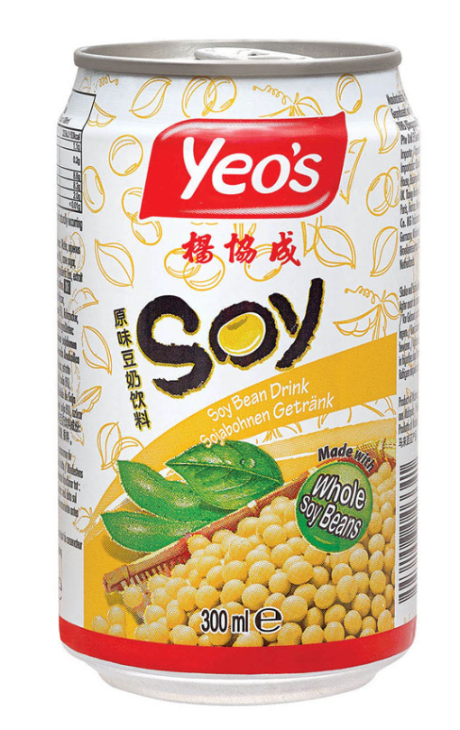 Yeo's Soy Bean Drink 24x300ml