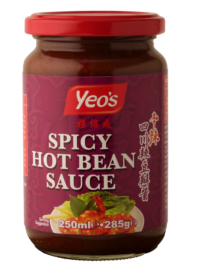 Yeo's Spicy Hot Bean Sauce 12x250ml
