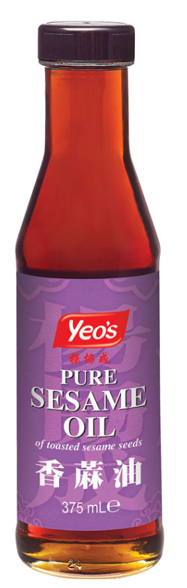 Yeo's Pure Sesame Oil 12x375ml