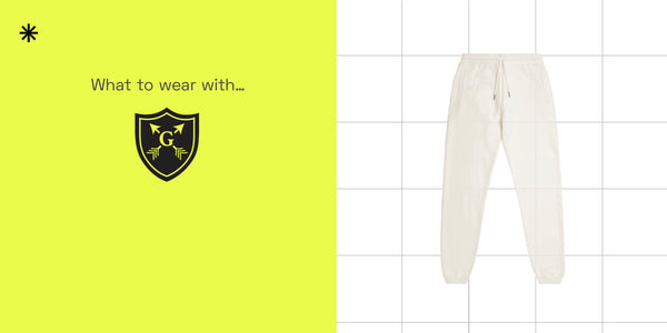 What to wear with... The Warrior Crest Sweatpant