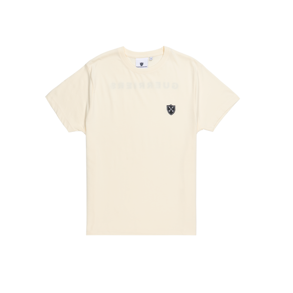 Warrior Crest Tee Front Bone | Guerriers