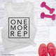 One More Rep Women's Workout Muscle Tee