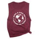 Wine & Dine Me Around the World Muscle Tee