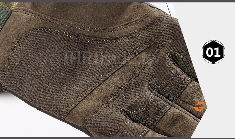 Ihrtrade,Tactical Gloves,NCHW00116B8,Leather tactical gloves,Waterproof tactical gloves