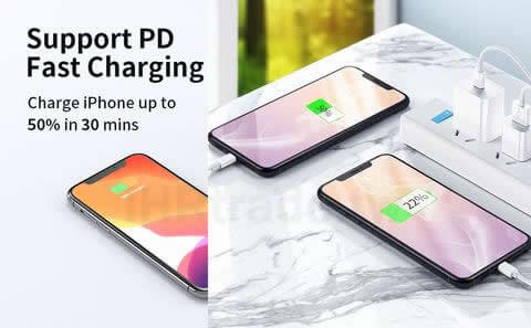 Ihrtrade,Creative 3C,DS30089_Wall Charger,Usb c To Lightning Cable Fast Charging,Usb c To Lightning Cable Plug