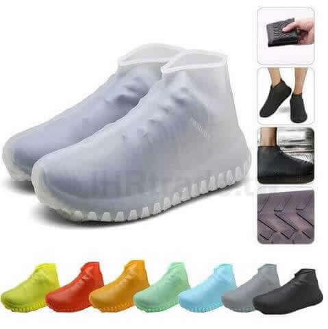 IHRtrade,Travel & Outdoors,SRP8963,Silicone Shoe Covers,Waterproof Shoe Covers For Walking