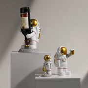 IHRtrade Resin Astronaut Statues, Sculpture Spaceman, Figurine Ornament, Home Arts & Desktop Accessories For Kids Gift
