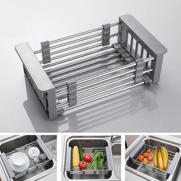 Ihrtrade Kitchen Retractable Drainer Rack