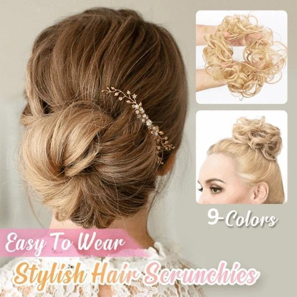 Ihrtrade Easy-To-Wear Stylish Hair Scrunchies (9 Types)