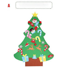 Load image into Gallery viewer, Ihrtrade DIY Felt Christmas Tree