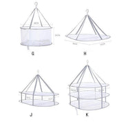 Ihrtrade Folded Mesh Clothes Hanging Dryer (10 types)