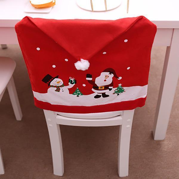Ihrtrade Christmas Chair Cover
