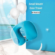Ihrtrade Travel Inflatable U Neck Pillow (4 colors)