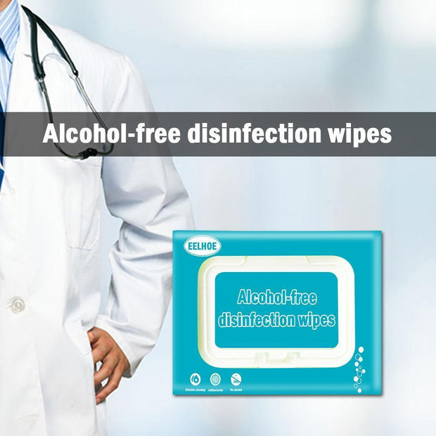 Wholesale & Retail Ihrtrade™ 80 sterilized disposable hand clean antibacterial wipes