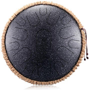 Ihrtrade  Alloy Steel Tongue Drum (6/8/10/12/14/16 Inches * 8/11/13/14 Notes)(10 colors)
