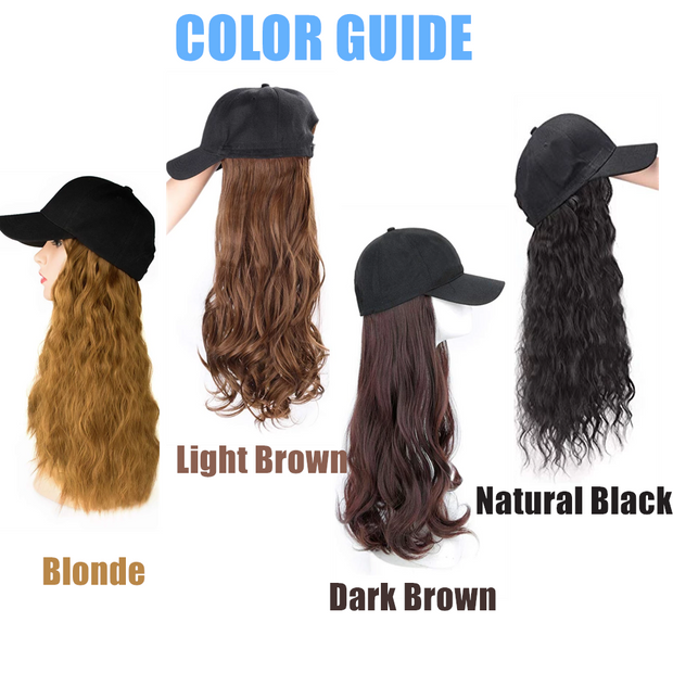 Ihrtrade Hair Wig Cap Long/Short (4 Colors & 5 Types)