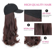 Clearance - Ihrtrade Hair Wig Cap Long/Short (4 Colors & 5 Types)