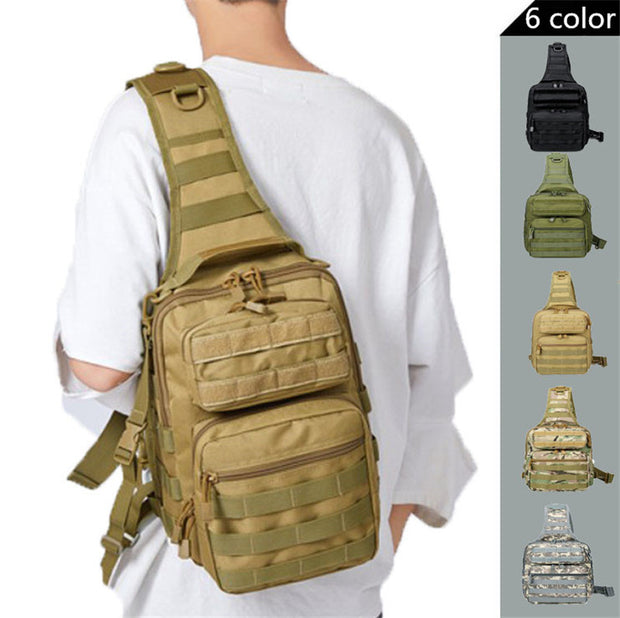 IHRtrade Archon Utility Tactical Sling Pack Gear Tactical Sling Bag Pack Military Rover Shoulder Sling Backpack