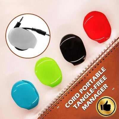 Ihrtrade Automatic Earphone Winding Tool (5 colors)