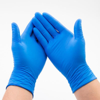 Ihrtrade Nitrile Disposable Gloves (Per Pack Of 100 PCS)