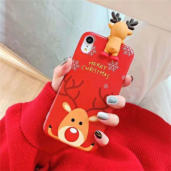 Ihrtrade Couple's Christmas - Theme Protection Case for iPhone (2 Pcs)