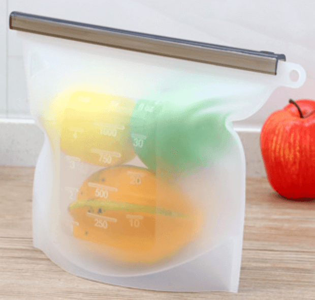 Ihrtrade Reusable Silicone Food Bag (4 colors)