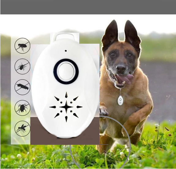 Ihrtrade Ultrasonic Flea & Tick Repeller