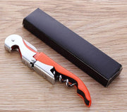 Features integrated of wine opener,beer opener and foil cutter