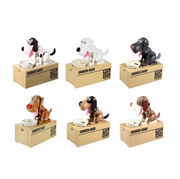Ihrtrade DOG COIN MONEY BANK (6 colors)