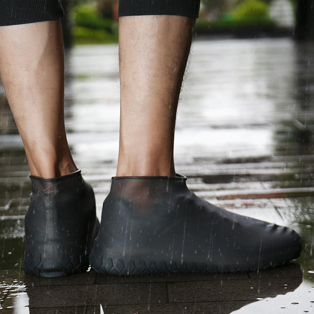 Silicone rain - proof waterproof shoe cover