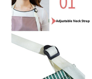 Ihrtrade Waterproof Adjustable Apron for Women Men (3 Colors)
