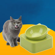 Ihrtrade 30 Degree Adjustable Pet Feeder Bowl (4 colors)