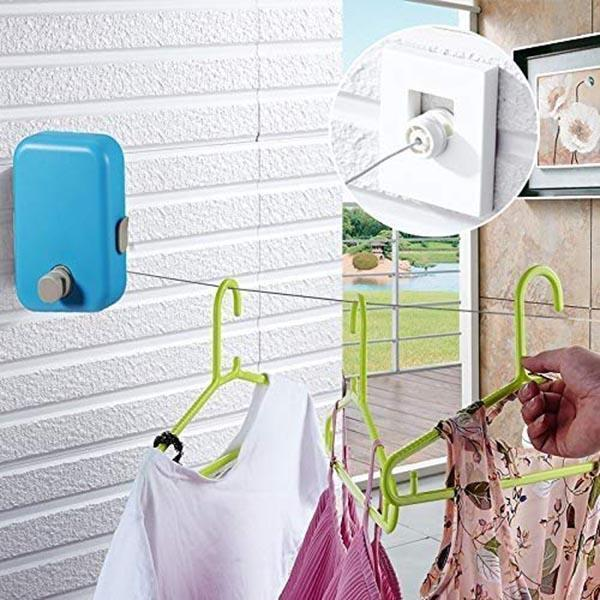 IHRneeria Automatic Telescopic Drying Rack (4 colors)