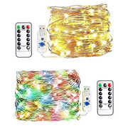 Ihrtrade Usb With Remote Control Light String (4 colors & 4 types)