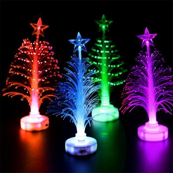 Ihrtrade Glowing Fiber Optic Christmas Tree