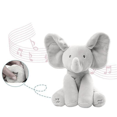 Ihrtrade Baby Animated Flappy Elephant Plush Toy