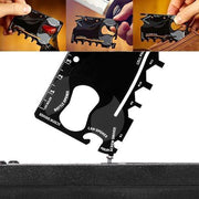 Ihrtrade 18 in 1 Multi-purpose Credit Card Pocket Tool
