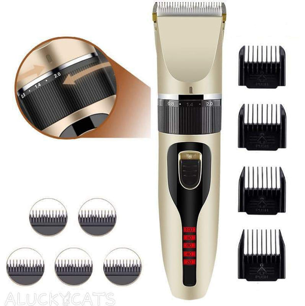 LCD Display Pet Hair Trimmer
