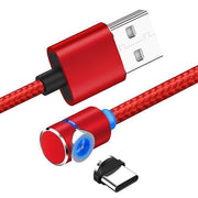 Ihrtrade 360 Magnetic Charging Cable (4 colors & 2 models)