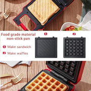 Ihrtrade Multi-function Breakfast Machine Sandwich Maker
