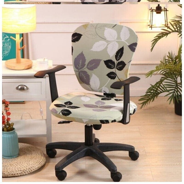 Ihrtrade Waterproof Decorative Computer Office Chair Cover (26 Types)