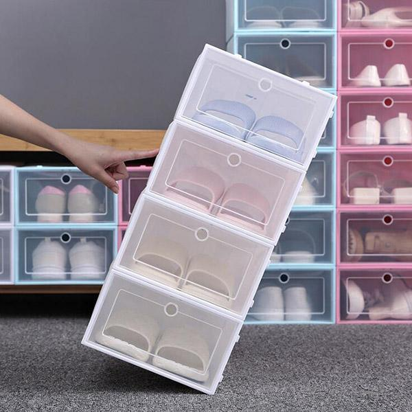Ihrtrade Shoes Storage Box (4 colors & 2 sizes)