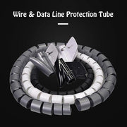 Ihrtrade Wire & Data Line Protection Tube (3 colors & 4 types)