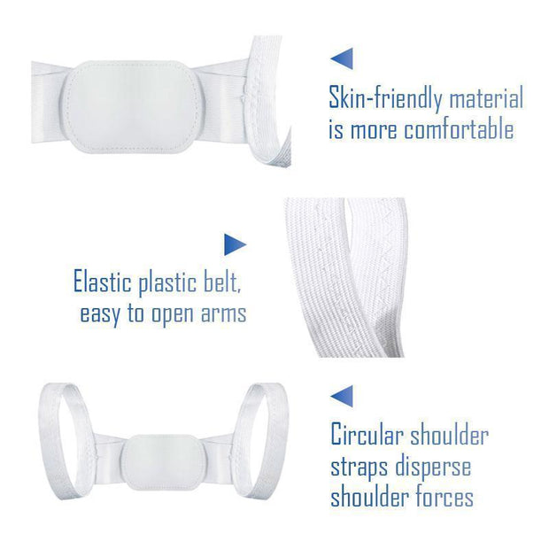 Wholesale & Retail Ihrtrade Invisible Back Posture Orthotics (2 colors & 2 sizes)