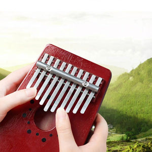 Ihrtrade 10 Keys Portable Thumb Piano (2 Colors)