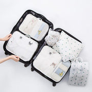 Ihrtrade Luggage Packing Organizer Set (7 Pcs)