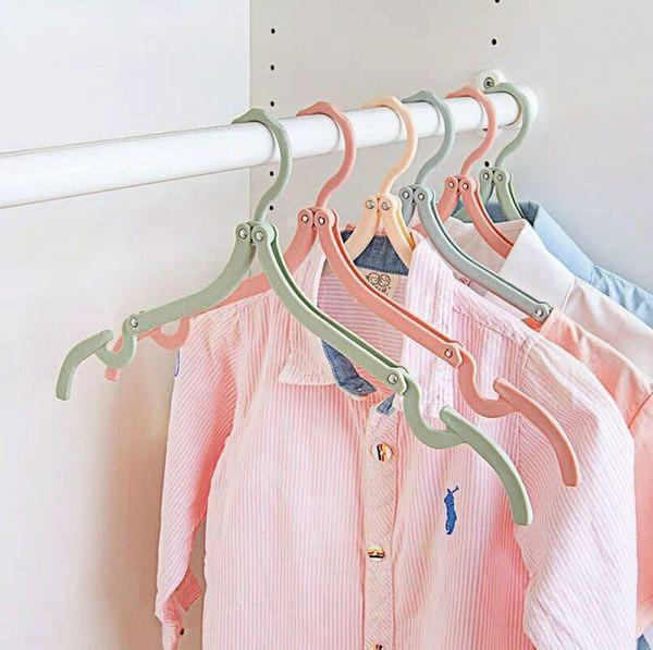 Ihrtrade Telescopic Folding Clothes-Hanger (4 colors)